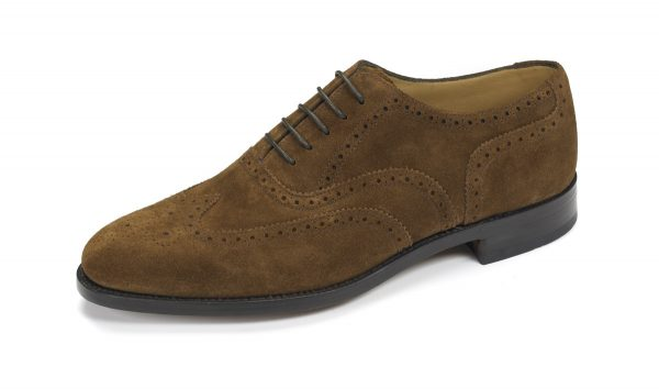 Loake 202 Brown Suede-0