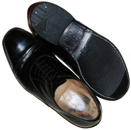 Mens Half Rubber Stitched Soles and Rubber Heels-0