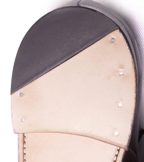 Leather Heel Quarter Rubber