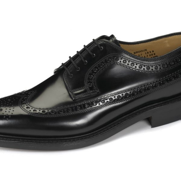 Loake Royal Black-0