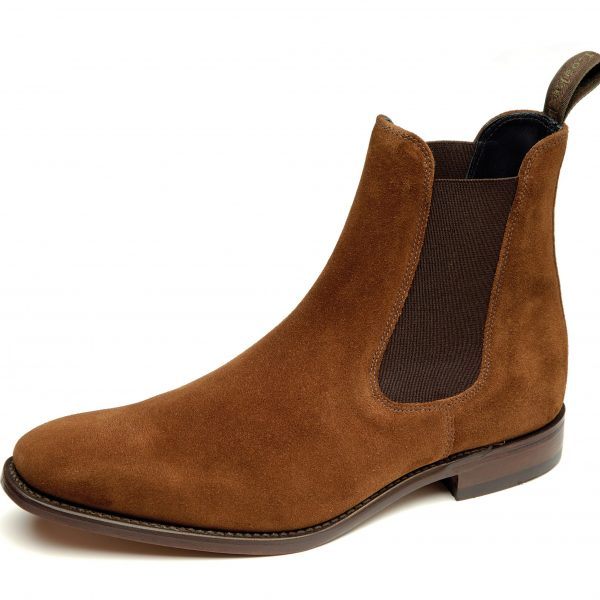 Loake Mitchum Brown Suede-0