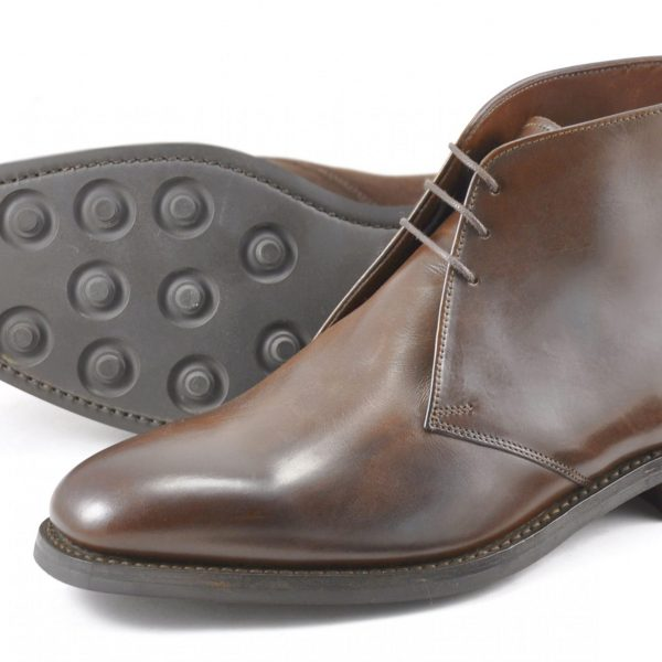 Loake Pimlico Dark Brown-0