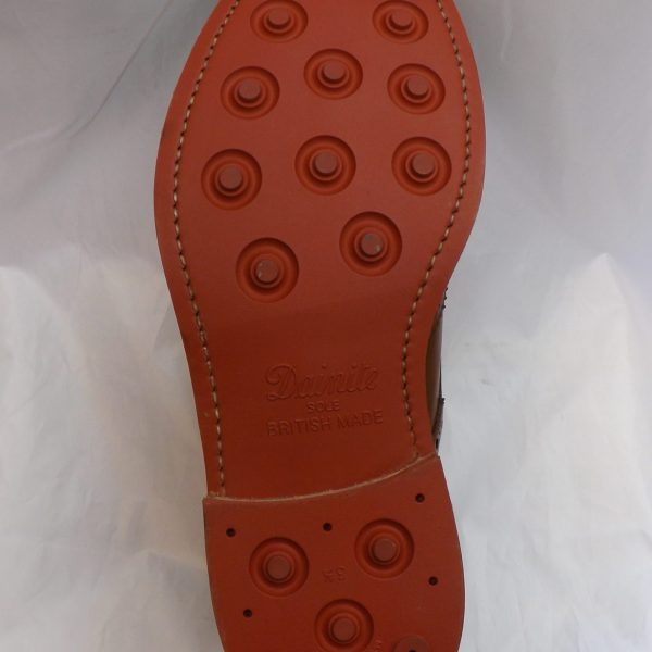 Red Dainite Sole and Heel