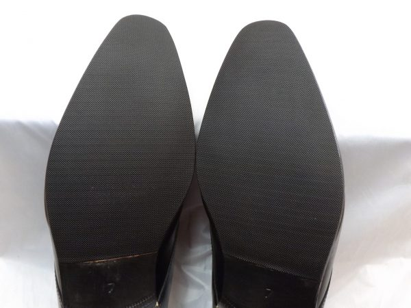 Black Stick on Rubber Sole