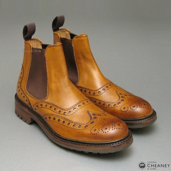 Cheaney Tamar C Almond Grain-1651