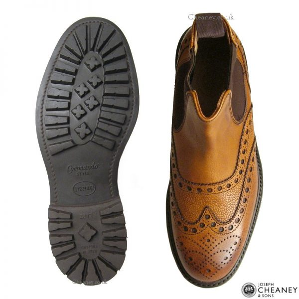 Cheaney Tamar C Almond Grain-1652