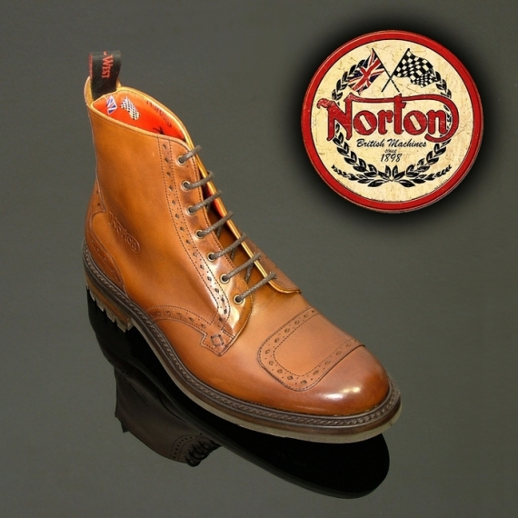 Jeffery West 'Norton' Hannibal Biker Boot-0